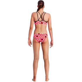 Funkita Criss Cross Top Ladies Black Sheep